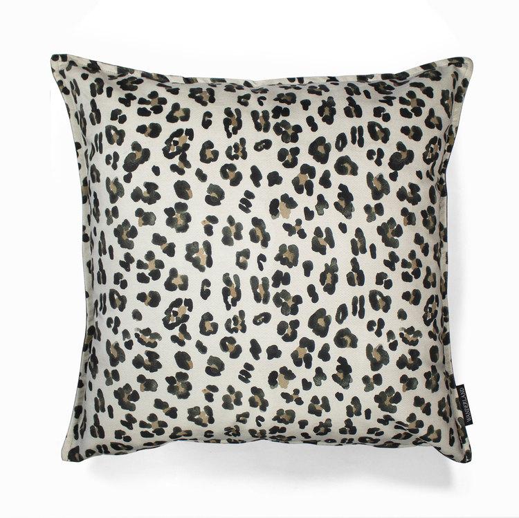 Aureum leopard kuddfodral i sammet 60 x 60 cm