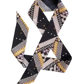 Faatimah Mohamed-Luke Pyramids siden twilly scarf