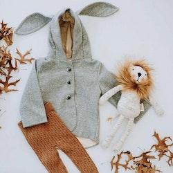 Kanin-kappa grå i begränsad upplaga