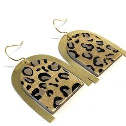 Cleo örhängen guld leopard