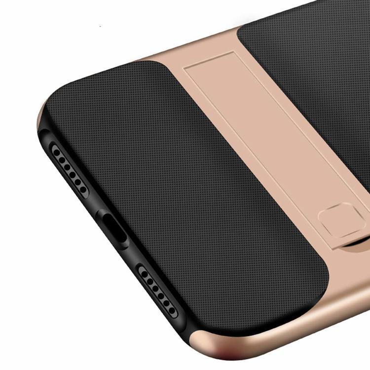 iPhone skal med kickstand svart