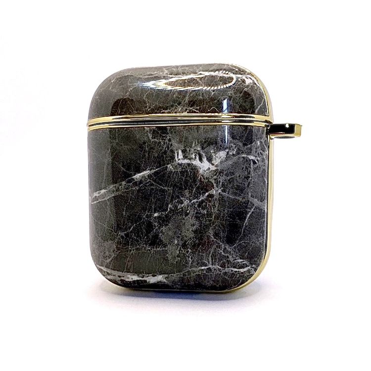 Apple AirPods skal/fodral Marmor&Guld