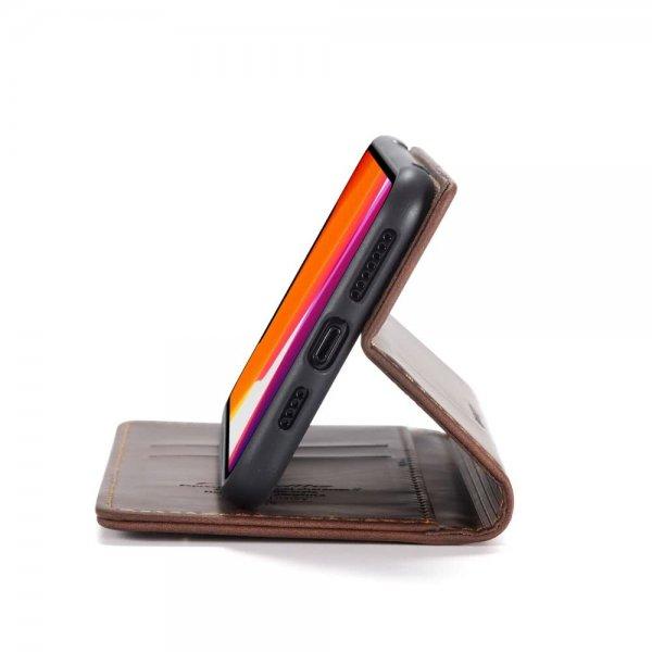 CaseMe Plånboksfodral för iPhone - Coffe