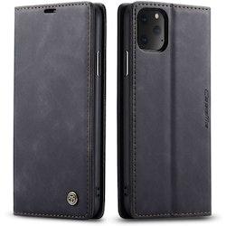 CaseMe Plånboksfodral för iPhone - Svart