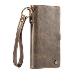CaseMe Elegant Plånboksfodral för iPhone - Coffe