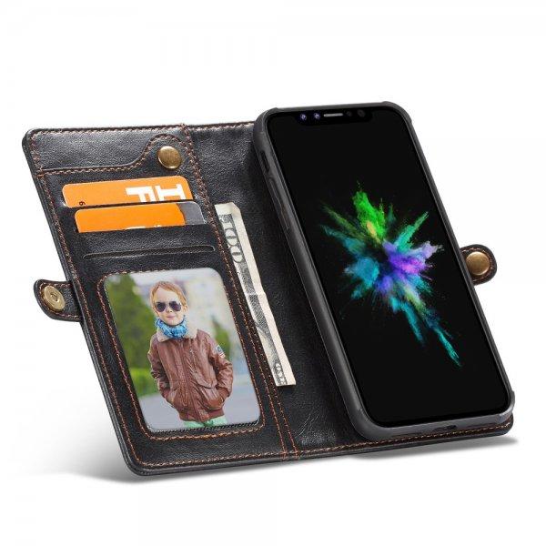CaseMe Elegant Plånboksfodral för iPhone - Svart
