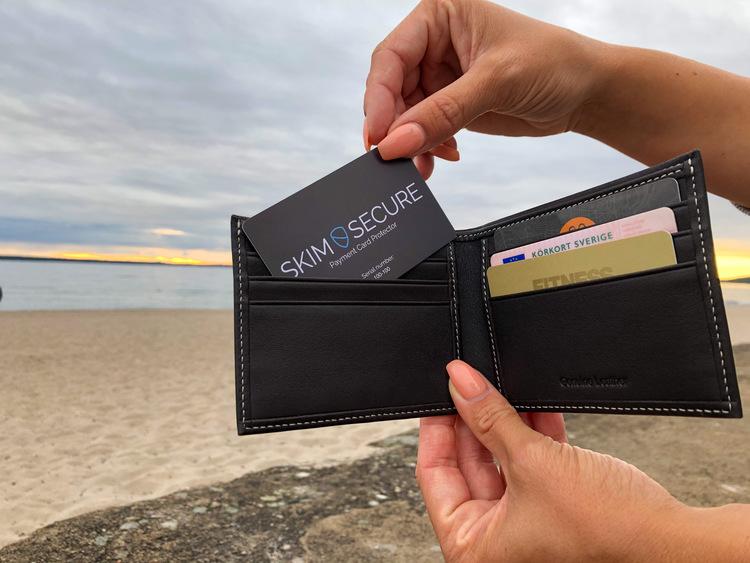 Skyddskort för plånboken