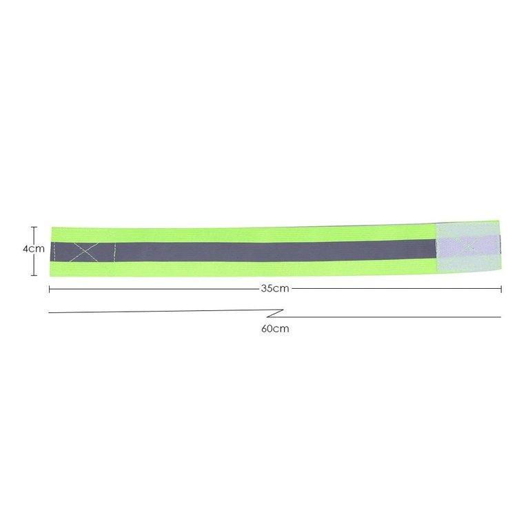 Elastiskt reflexband mått