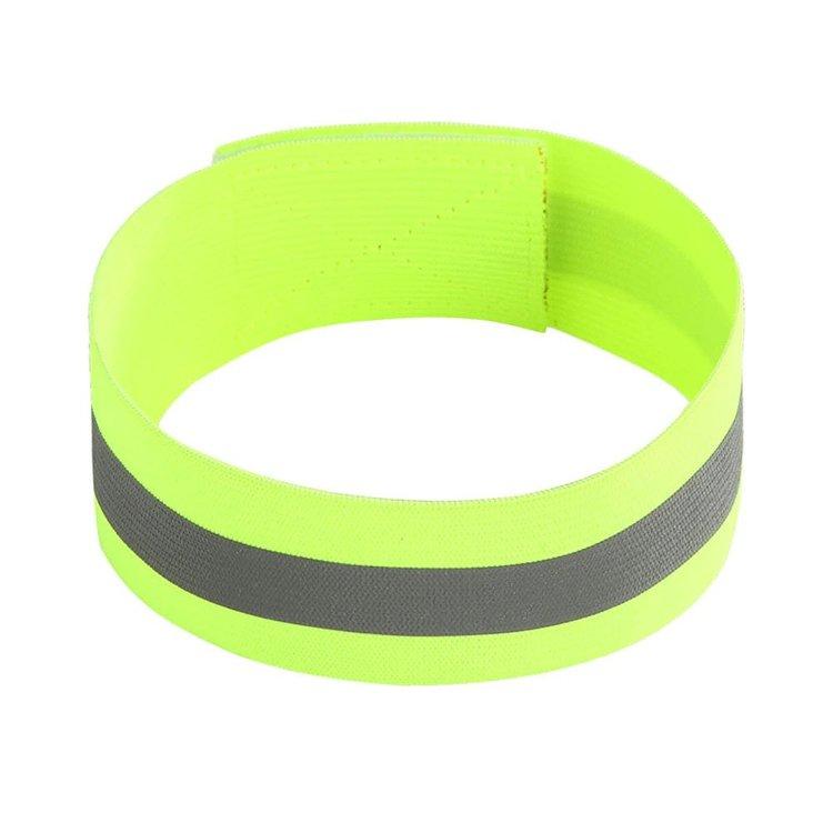 Elastiskt reflexband Grön