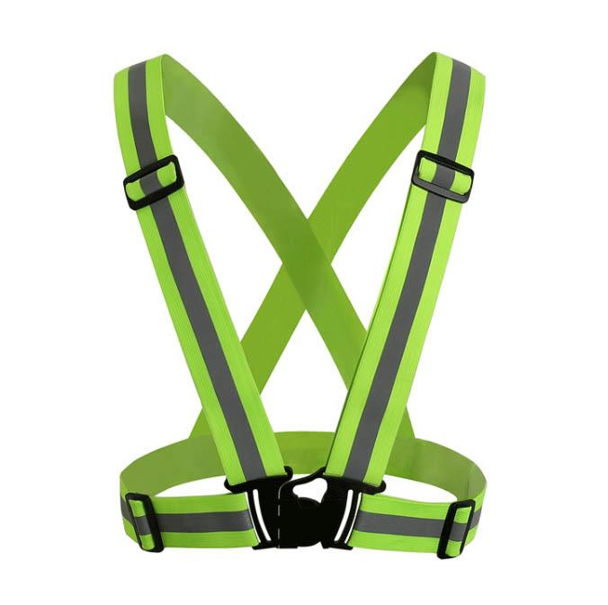 Reflexväst - Reflexsele Grön