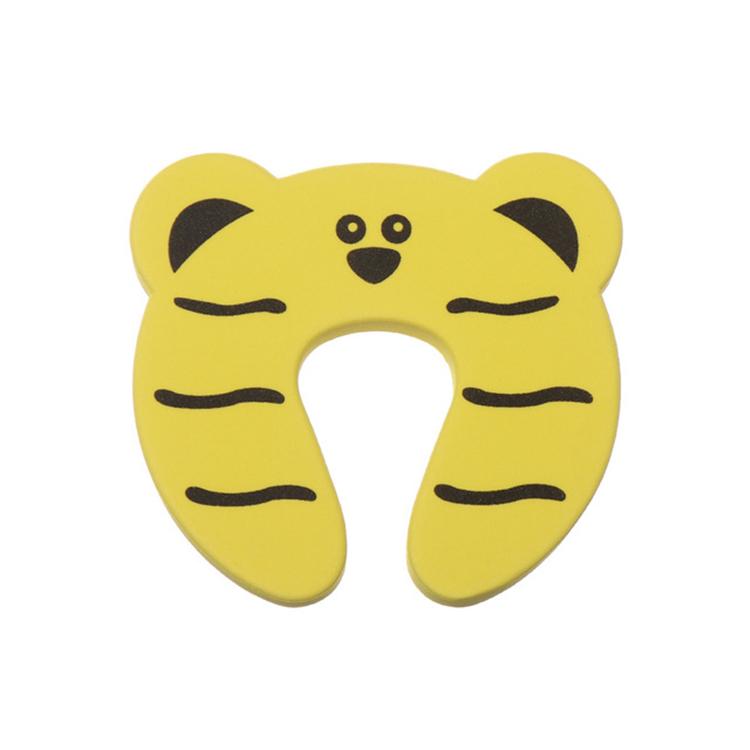 Klämskydd dörr - Gul tiger