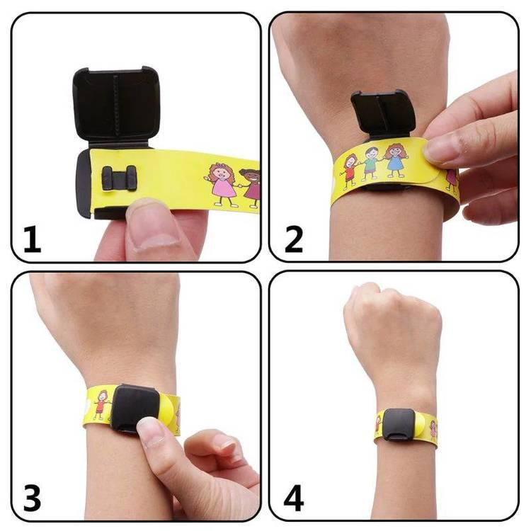 Enkel användning av ID-armbanden