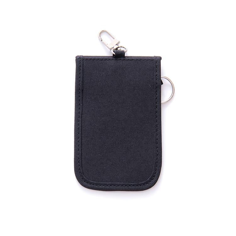 SKyddsfodral för bilnyckel - Svart tyg - baksida