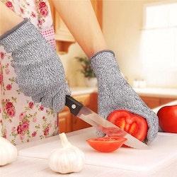 Skyddshandskar för matlagning och hantverk
