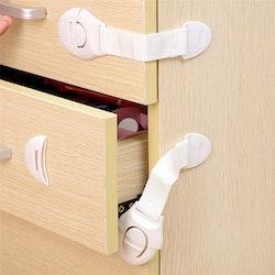Skåp- och lådspärr - Flexibel