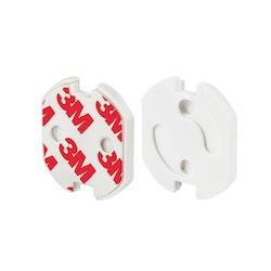 Kontaktskydd - Petskydd vridbart - 4 pack