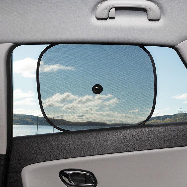 Solskydd för bilens sidorutor