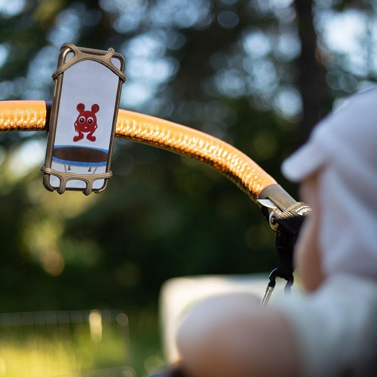 Mobilhållare för barnvagnen