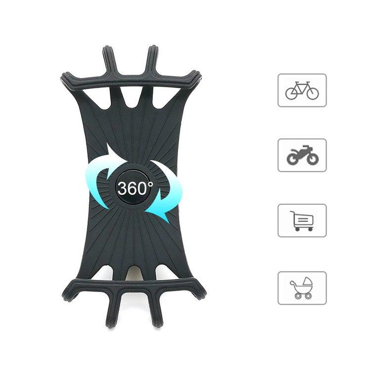 Telefonhållare för mobilen till barnvagn, cykel, moped