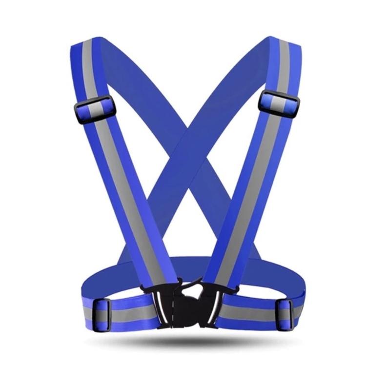 Reflexväst - Reflexsele Blå