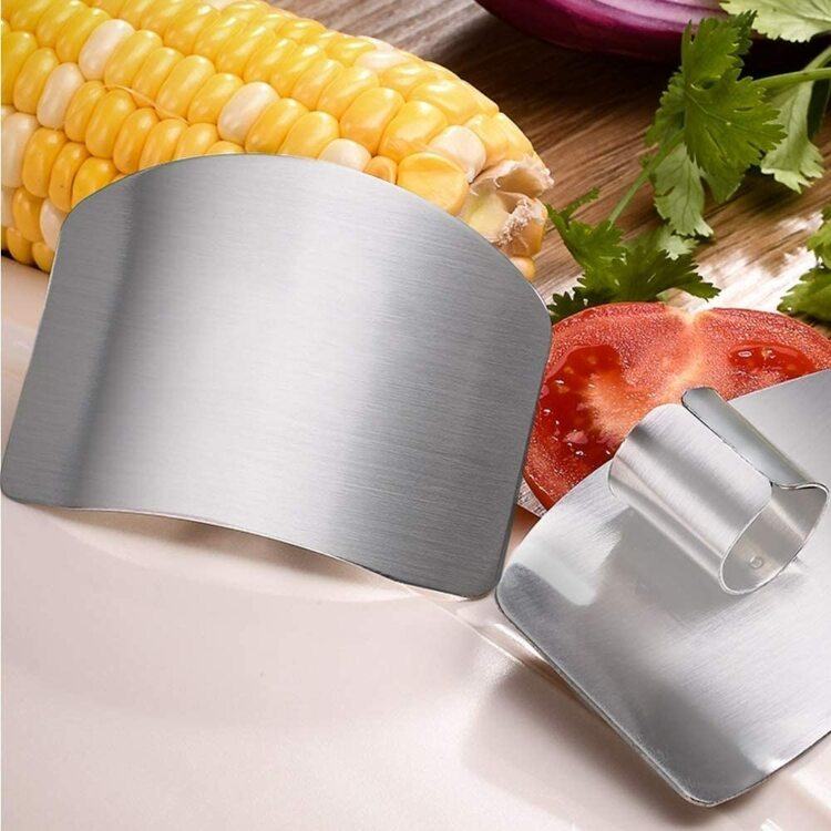 Fingerskydd i rostfritt stål