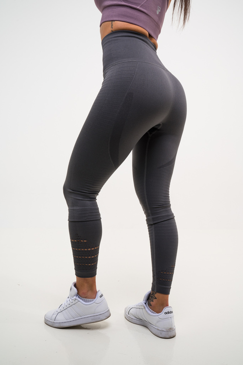 Cozy Seamless Tights Grey