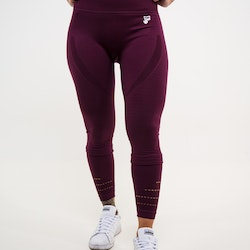 Cozy Seamless Tights Plum