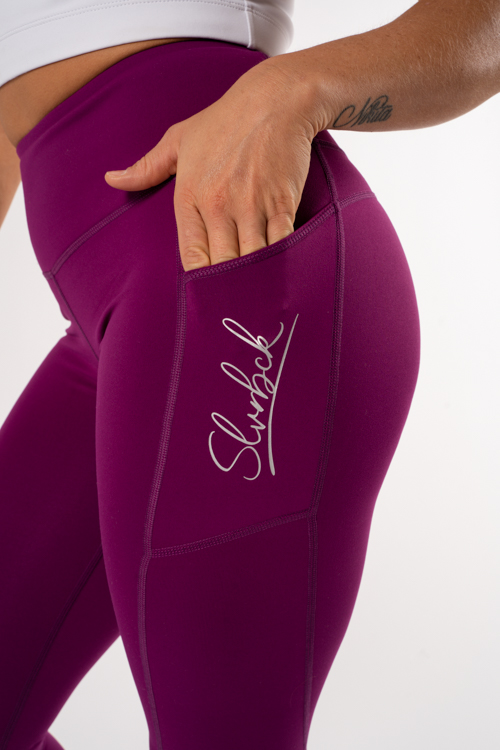 snygga tights lila
