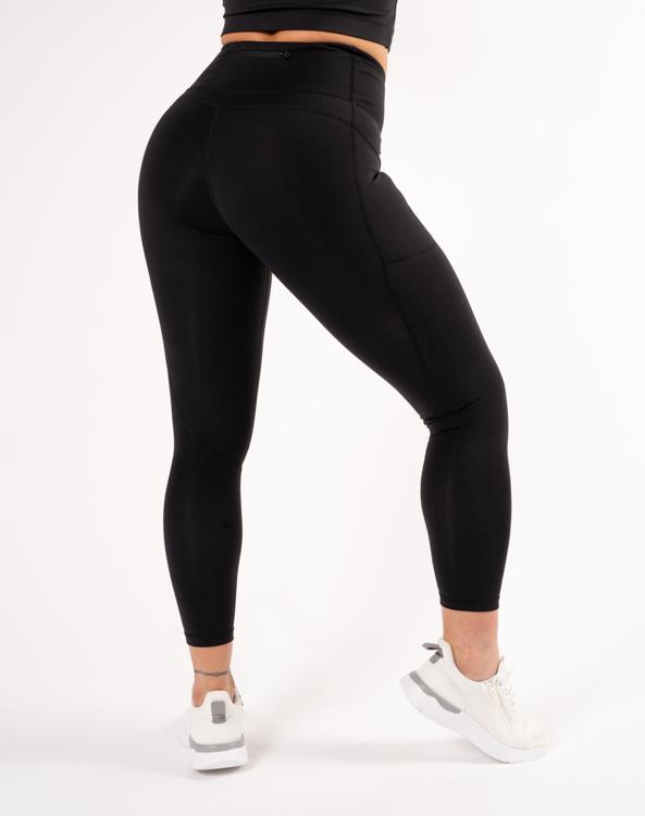 Snygga svarta squat proof leggings