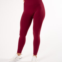 Happy Seamless Tights Red