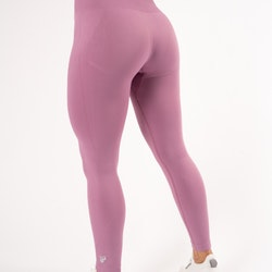 Happy Seamless Tights Pink