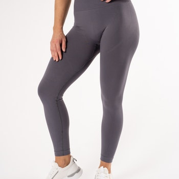 Happy Seamless Tights Lavender
