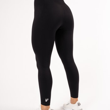 Happy Seamless Tights Black