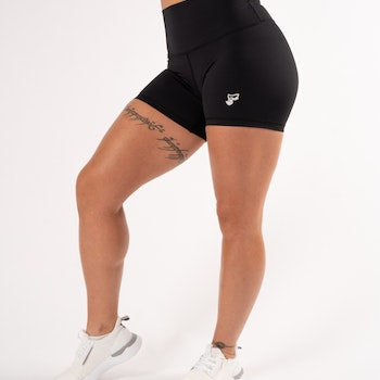 Classic Black High Waist Shorts