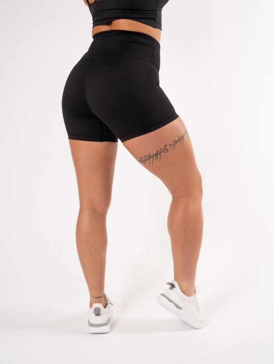 leggings shorts svarta