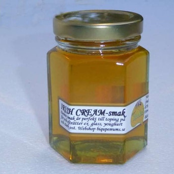 Biqupemums med smak av whisky och grädde