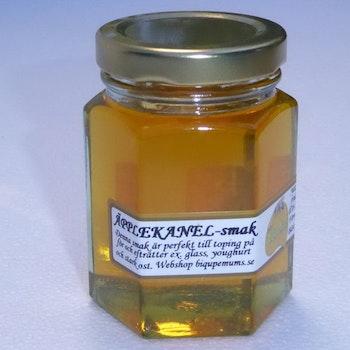 Biqupemums med smak av äpple och kanel
