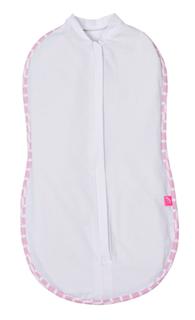 Zip&Swaddle (2,5-5kg) Pink