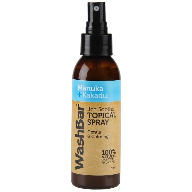 WashBar Itch Soothe Spray Manuka + Kakadu 125ml