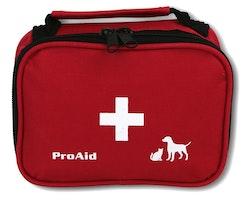 Första hjälpen-kit Hund