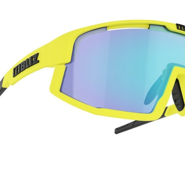 Bliz Vision Matt Yellow / Smoke w Blue Multi