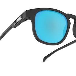 Bliz Ace Matt rubber/Black w blue multi