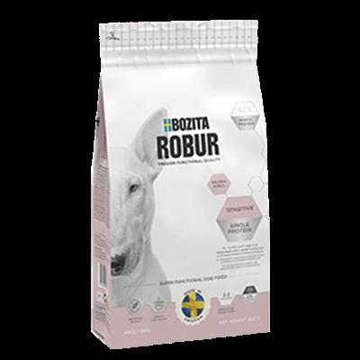 Bozita Robur Sensitive Single Protein Salmon & Rice 12,5kg [Avhämtning]