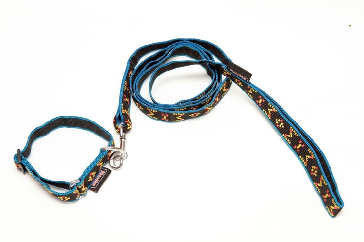 ManMat Valpkit Halsband 22 - 34 cm + Koppel 175cm