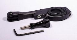Styrfäste med arm GoPro-kompatibelt (aluminium)