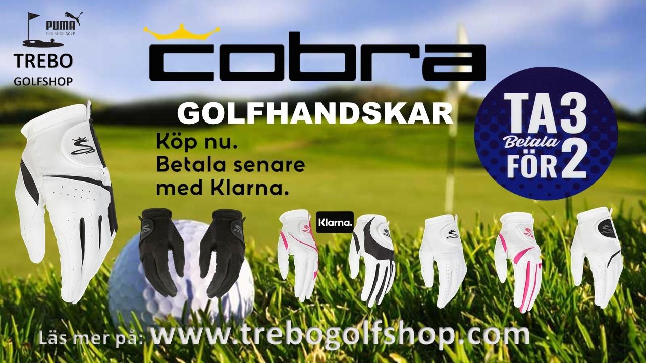 3 för 2 Golfhandskar - Trebo Golfshop
