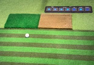 Multimatta functional 3D Golf strike pad