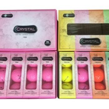 Crystalbollar NYA Rainbow, 12-pack