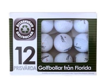 Titleist Floridabollar AAA-Grade, 12 pack