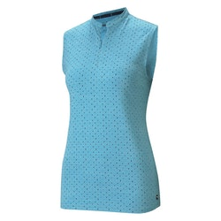 Puma Cloudspun Sleeveless Polka Polo